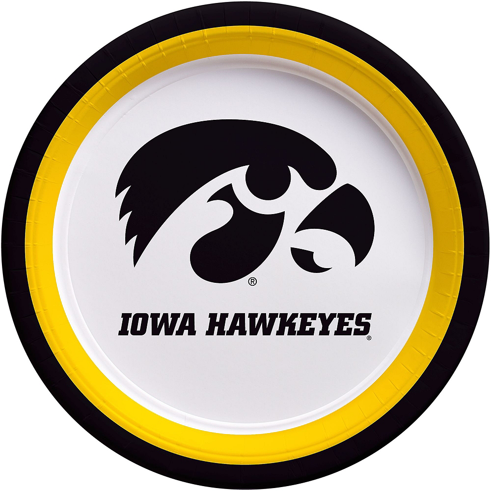 Iowa Hawkeyes Party Kit for 16 Guests Image #3
