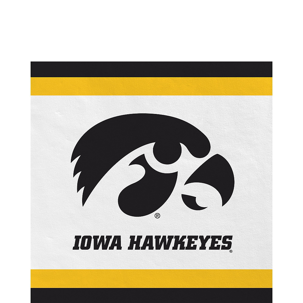 Iowa Hawkeyes Party Kit for 16 Guests Image #5