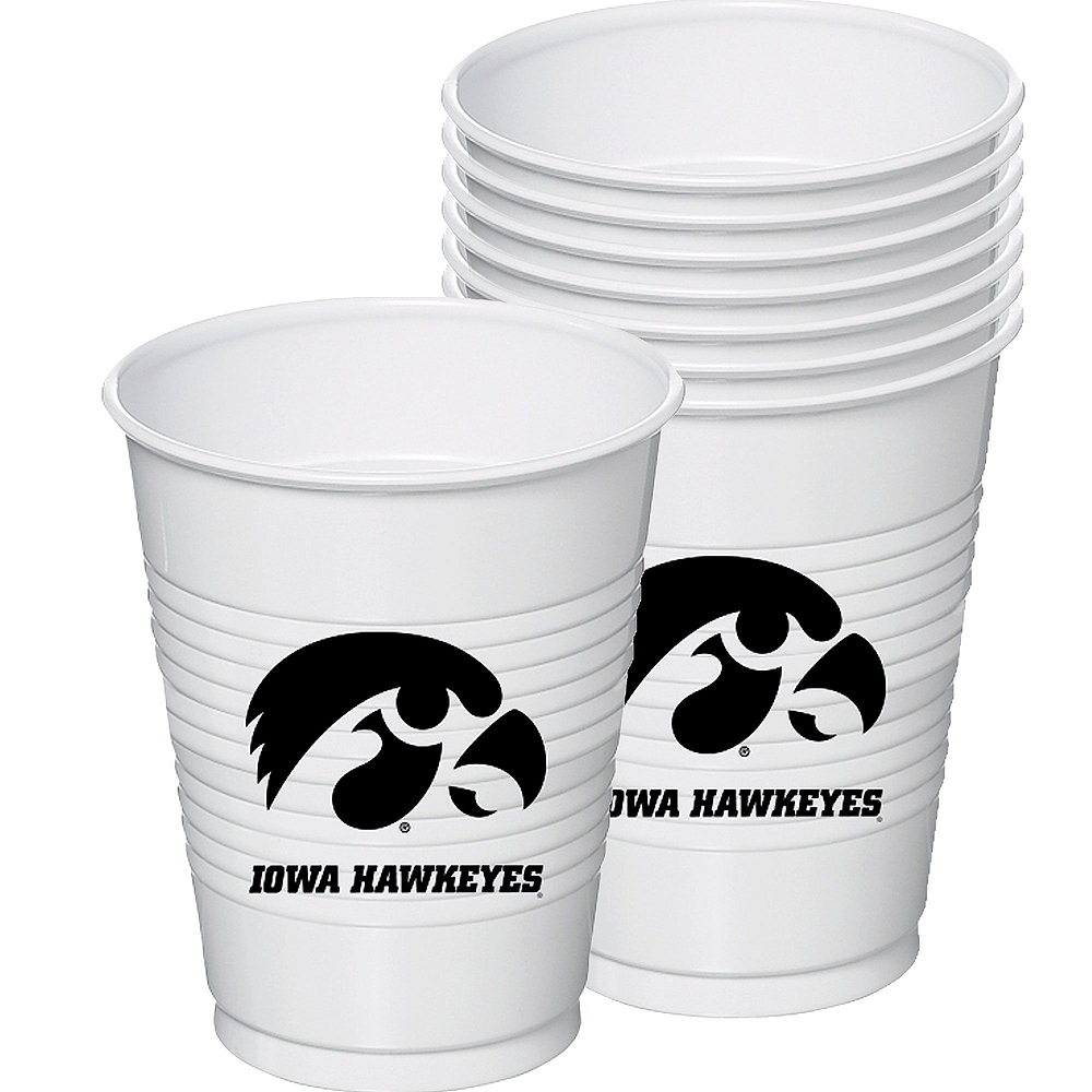 Iowa Hawkeyes Party Kit for 16 Guests Image #6