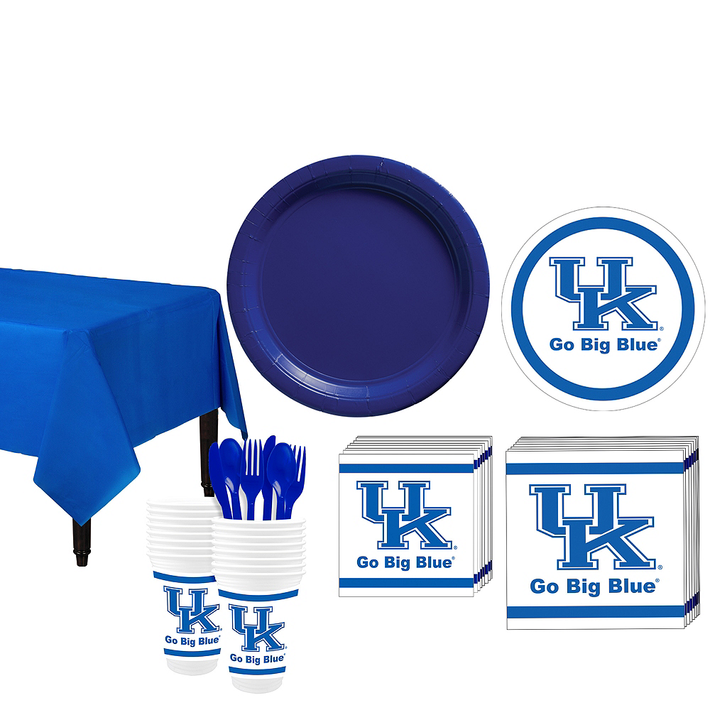 Kentucky Wildcats Party Kit for 16 Guests Image #1