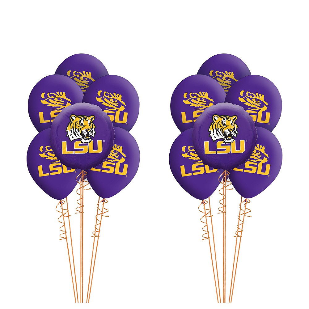 Louisiana State Tigers Balloon Kit Image #1