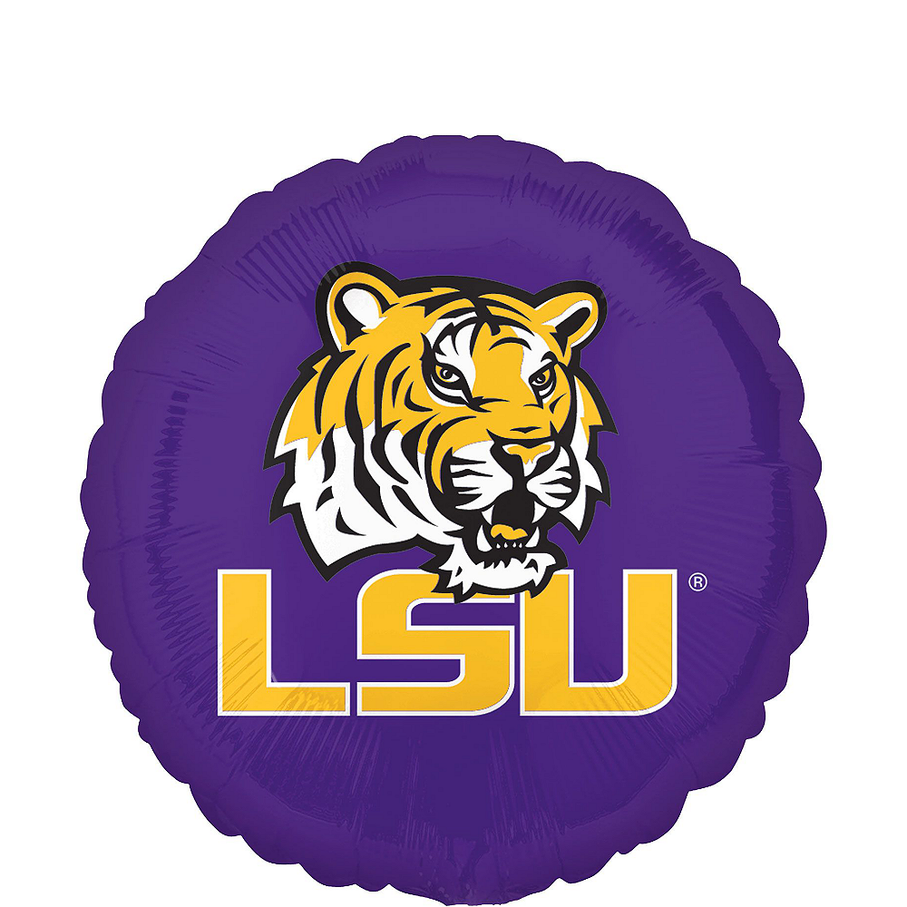 Louisiana State Tigers Balloon Kit Image #2