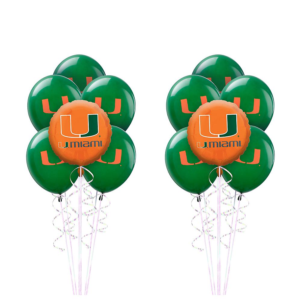 Miami Hurricanes Balloon Kit Miami Hurricanes Party Supplies