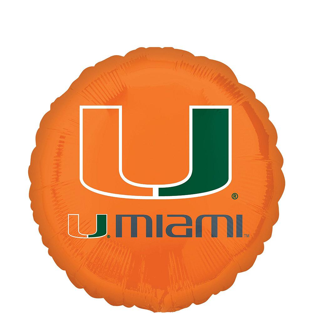 Miami Hurricanes Balloon Kit Image #2