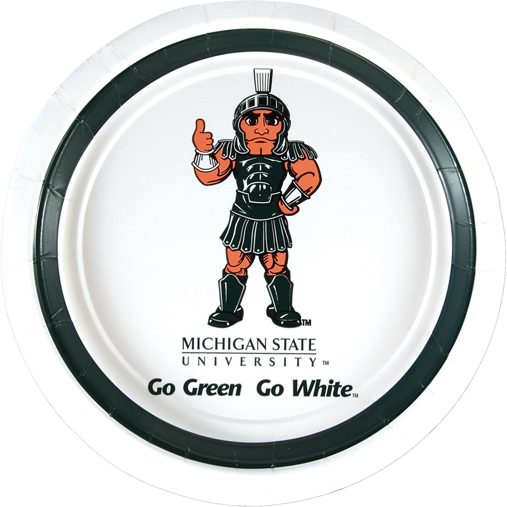 Michigan State Spartans Party Kit for 16 Guests Image #3