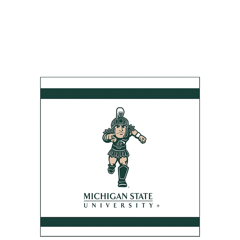 Michigan State Spartans Party Kit for 16 Guests Image #4