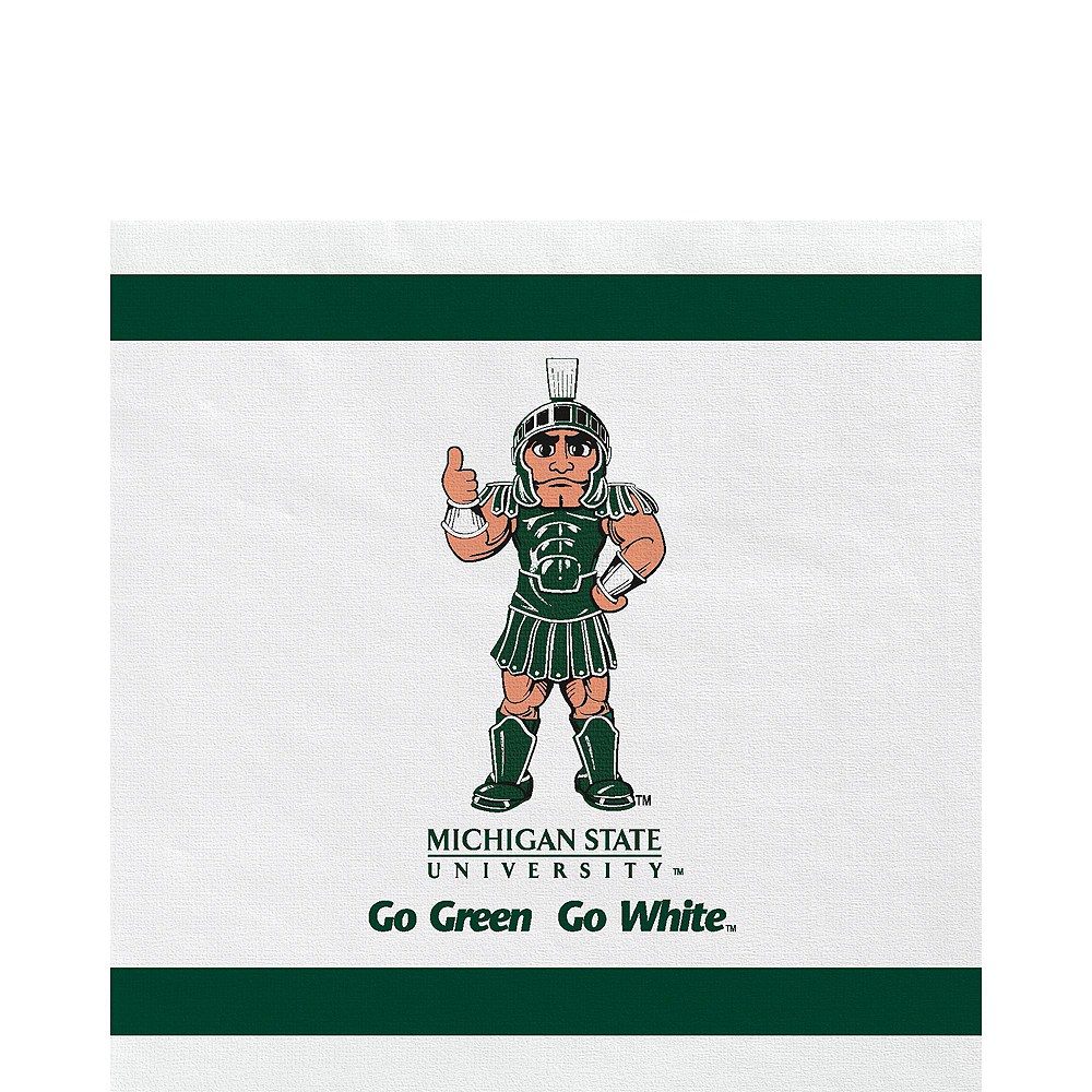 Michigan State Spartans Party Kit for 16 Guests Image #5
