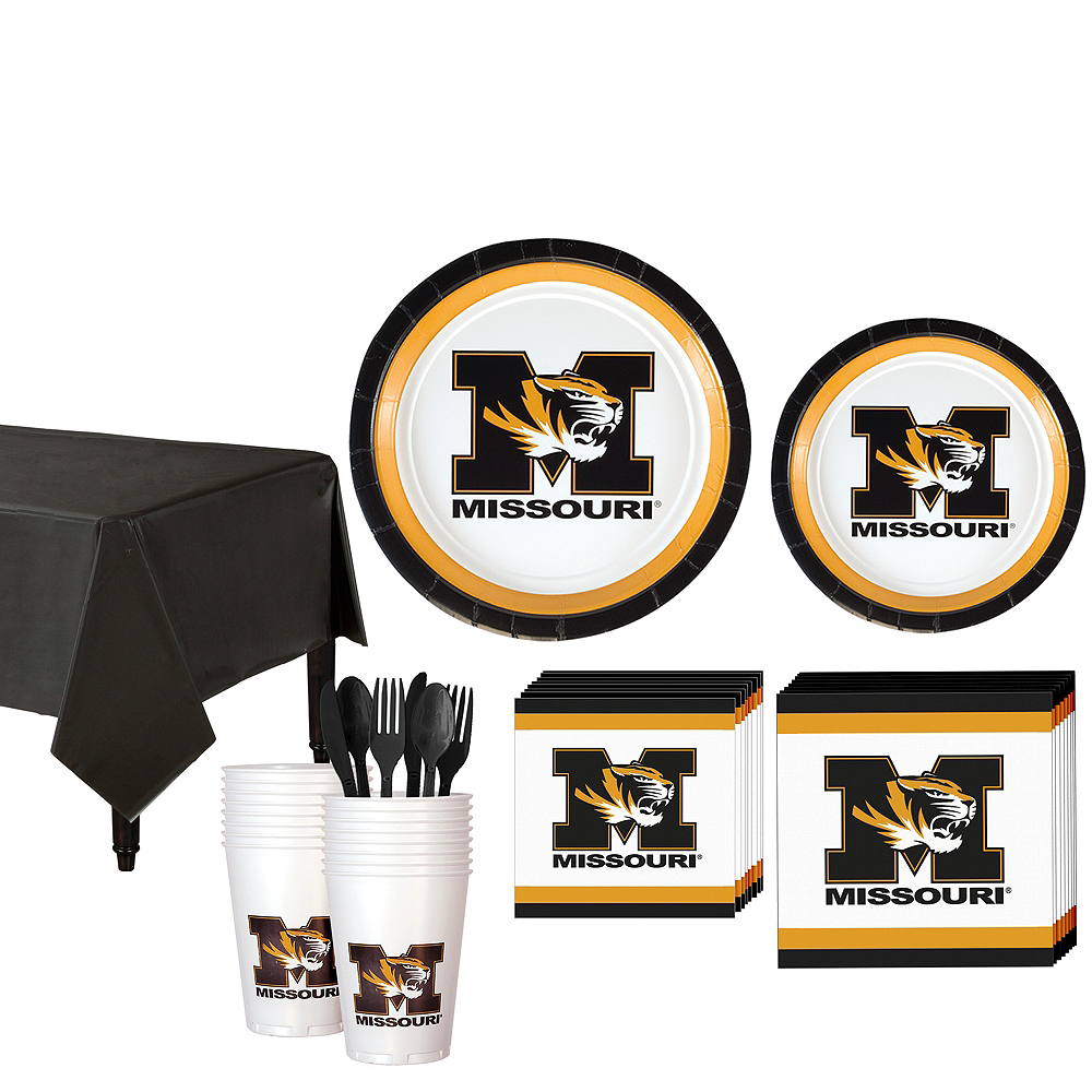 Missouri Tigers Party Kit for 16 Guests Image #1