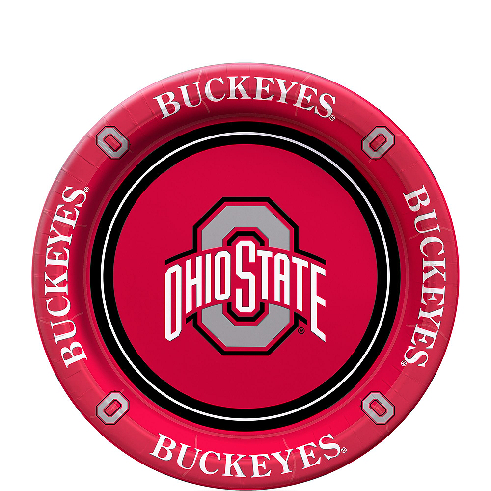Ohio State Buckeyes Party Kit for 16 Guests Image #2