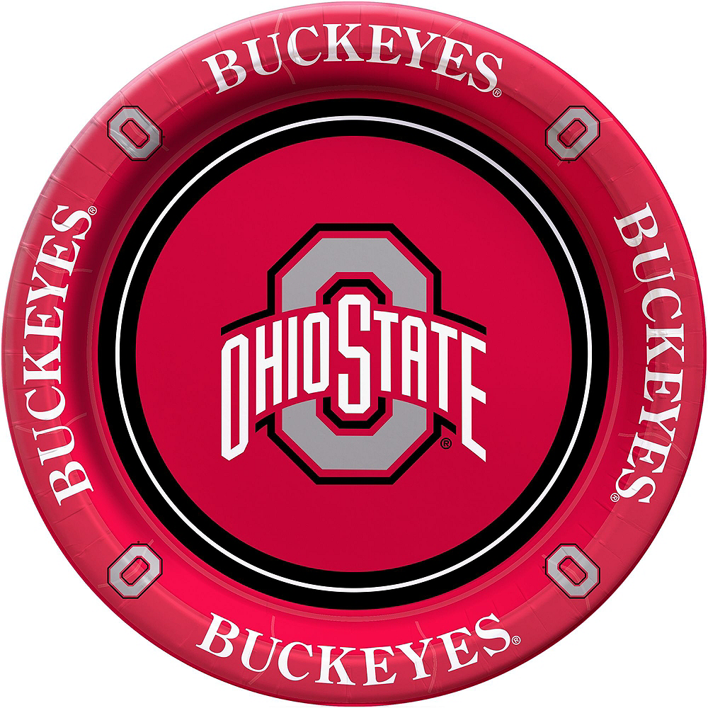 Ohio State Buckeyes Party Kit for 16 Guests Image #3