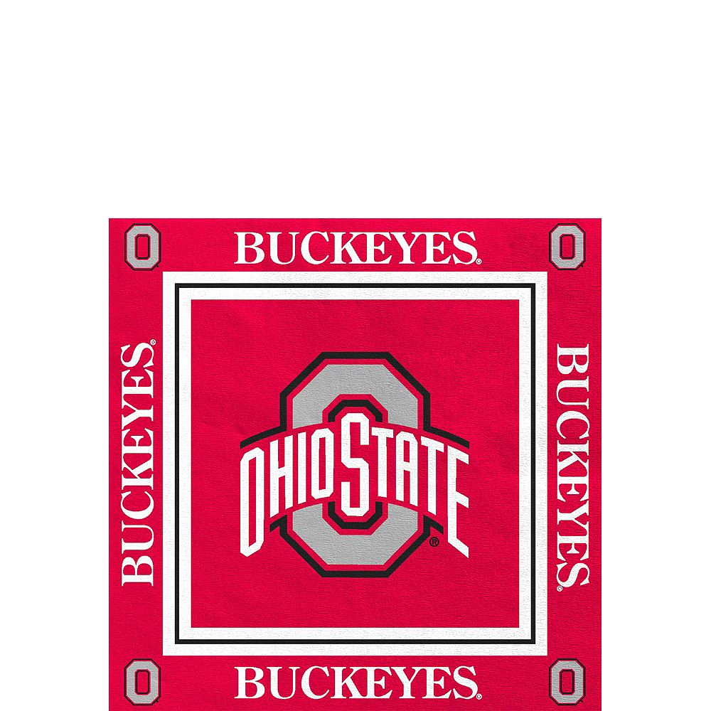 Ohio State Buckeyes Party Kit for 16 Guests Image #4