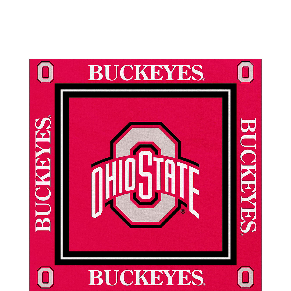 Ohio State Buckeyes Party Kit for 16 Guests Image #5