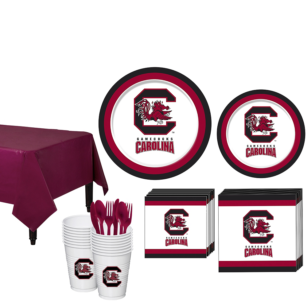 Nav Item for South Carolina Gamecocks Party Kit for 16 Guests Image #1