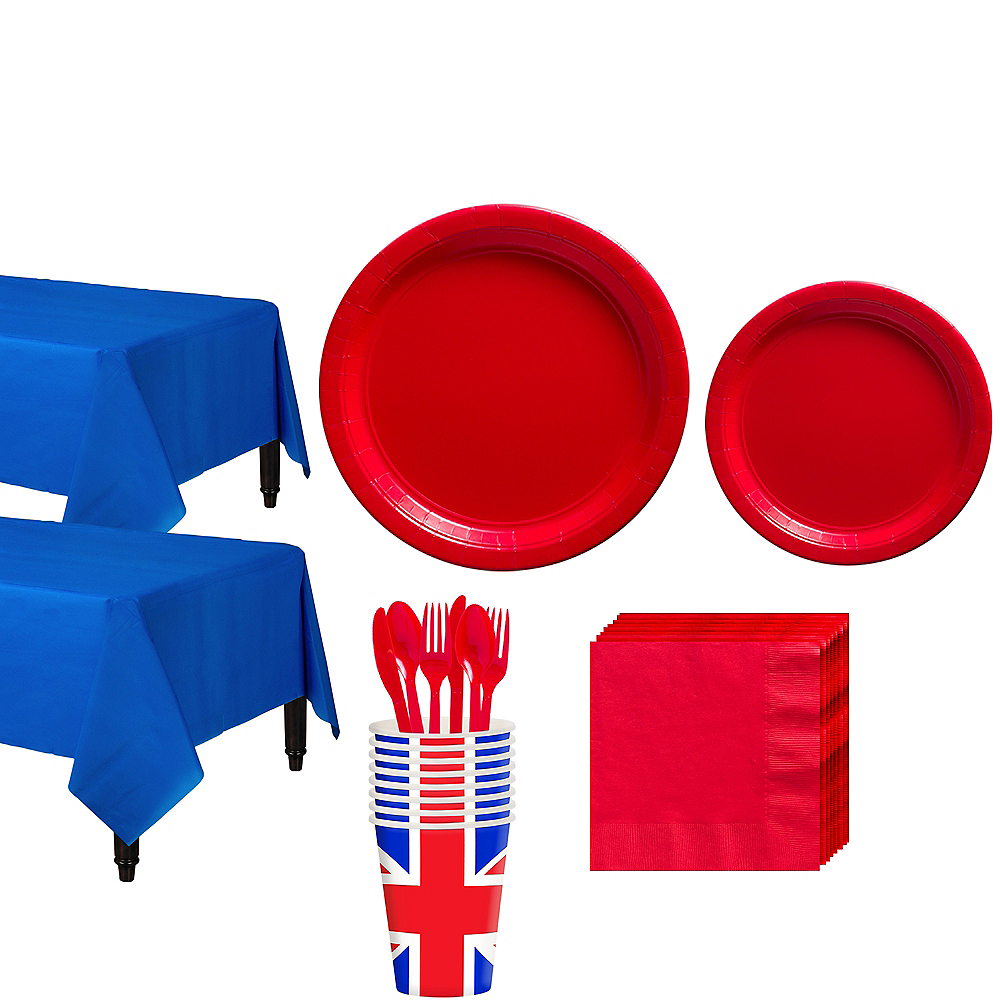 Great Britain Tableware Kit for 16 Guests Image #1