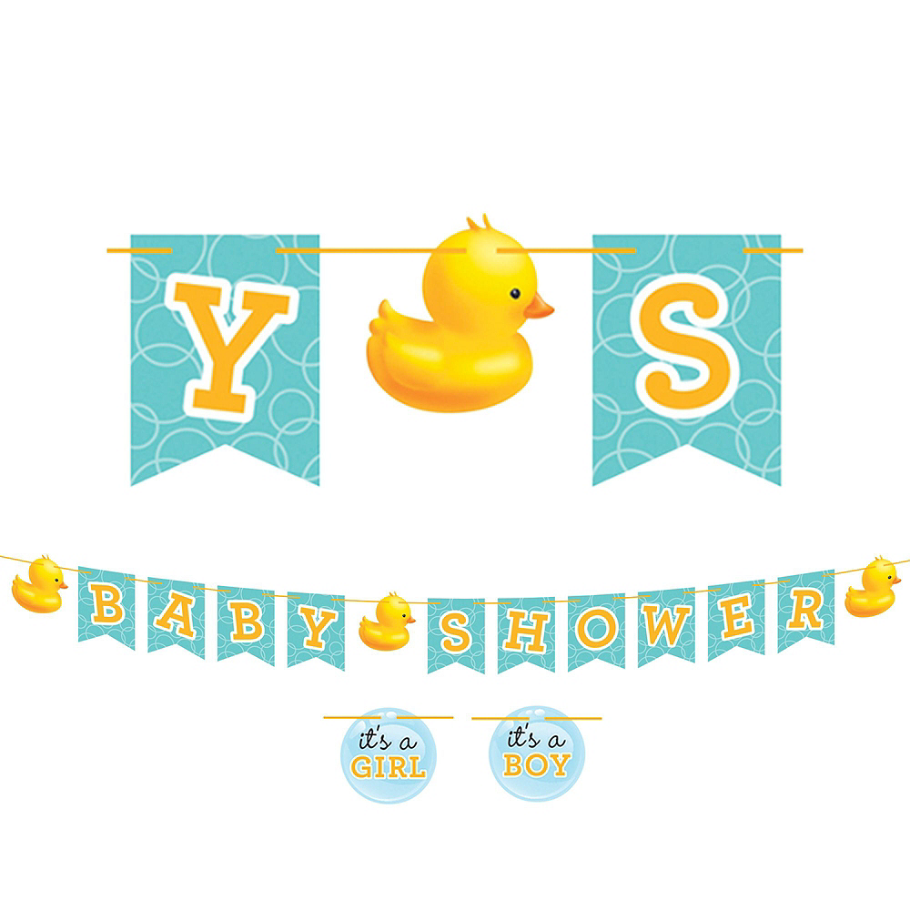 Rubber Ducky Baby Premium Baby Shower Kit for 32 Guests Image #8