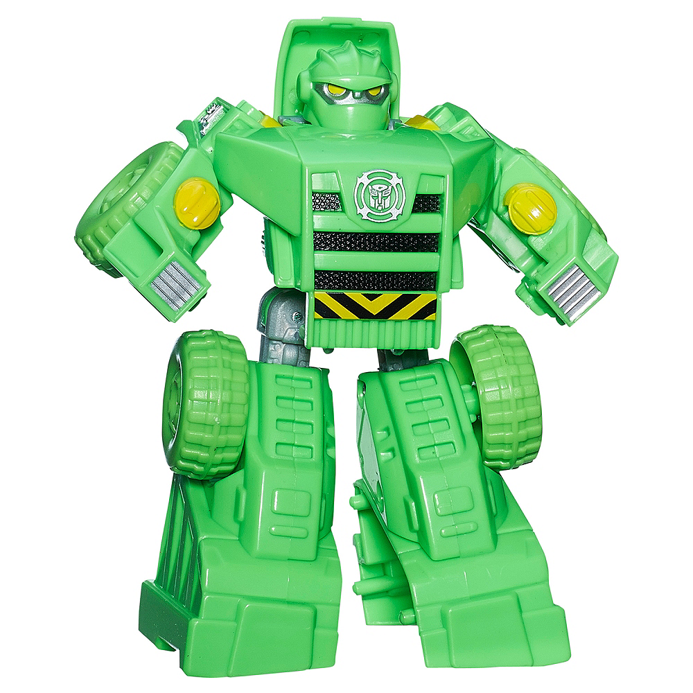 Rescue Bots Boulder Action Figure 3 3/4in X 4 3/4in