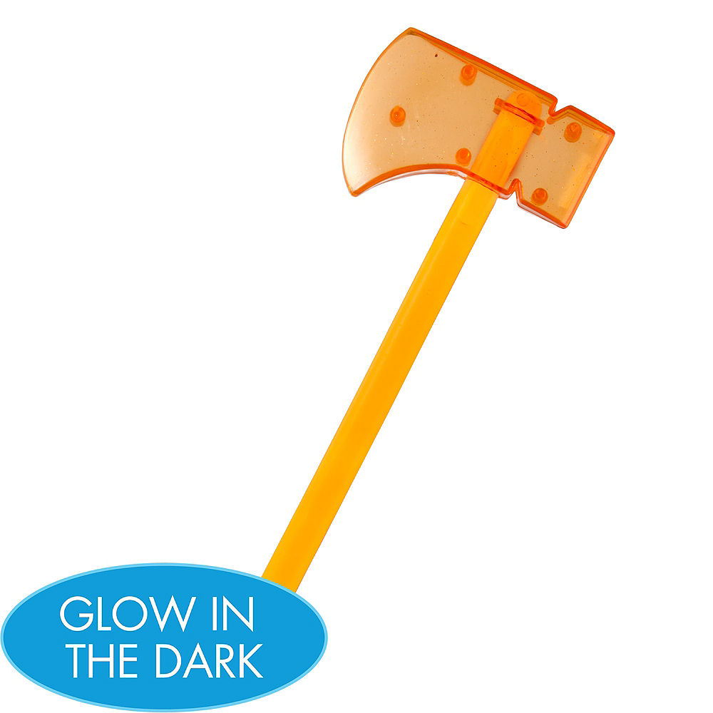 Orange Axe Glow Wand Image #1
