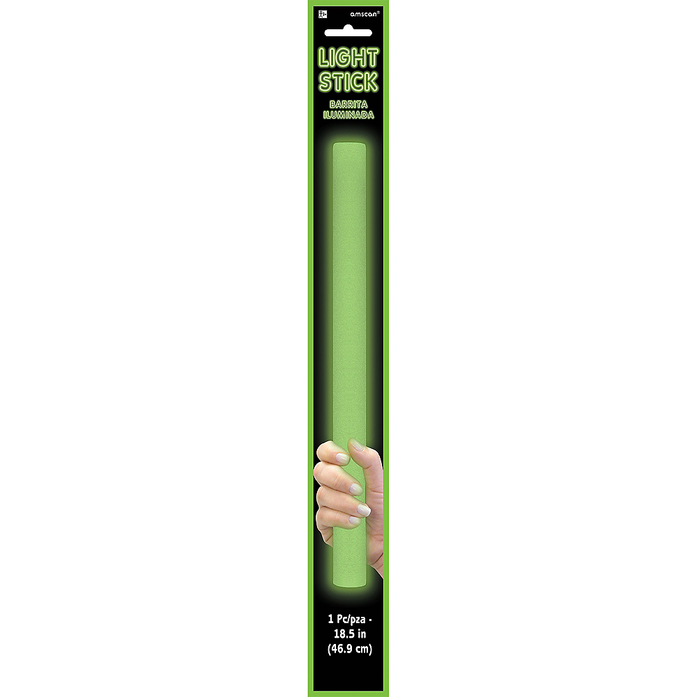 Green Light-Up Stick Image #2