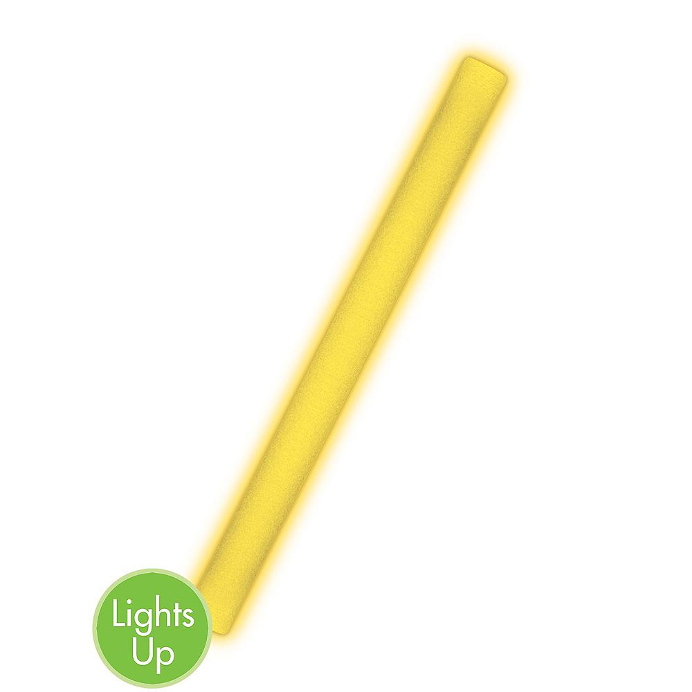 Yellow Light-Up Stick Image #1