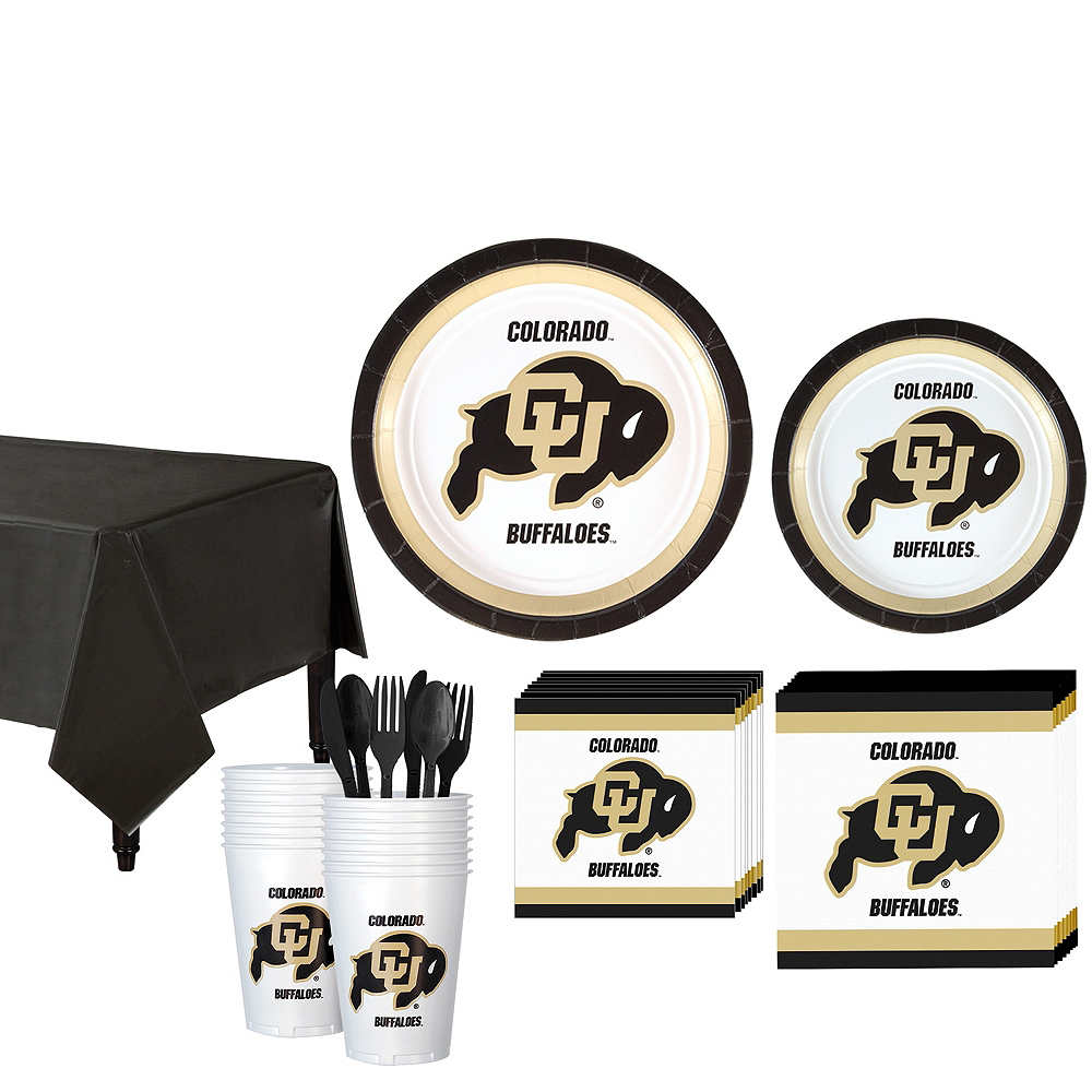 Colorado Buffaloes Party Kit for 16 Guests Image #1