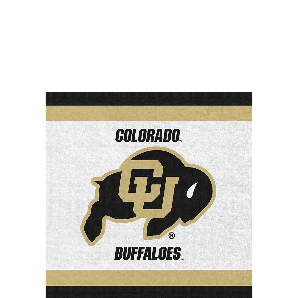 Colorado Buffaloes Party Kit for 16 Guests Image #4