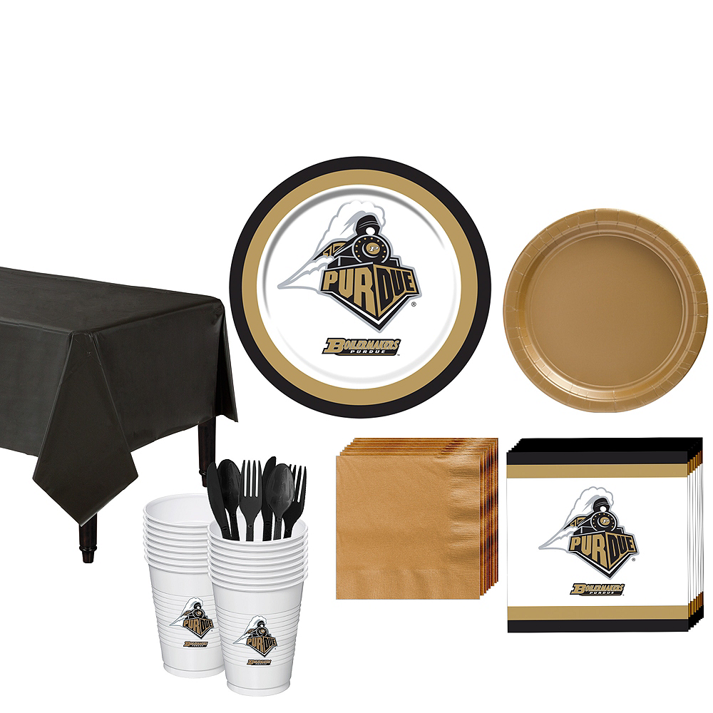 Purdue Boilermakers Party Kit for 16 Guests Image #1
