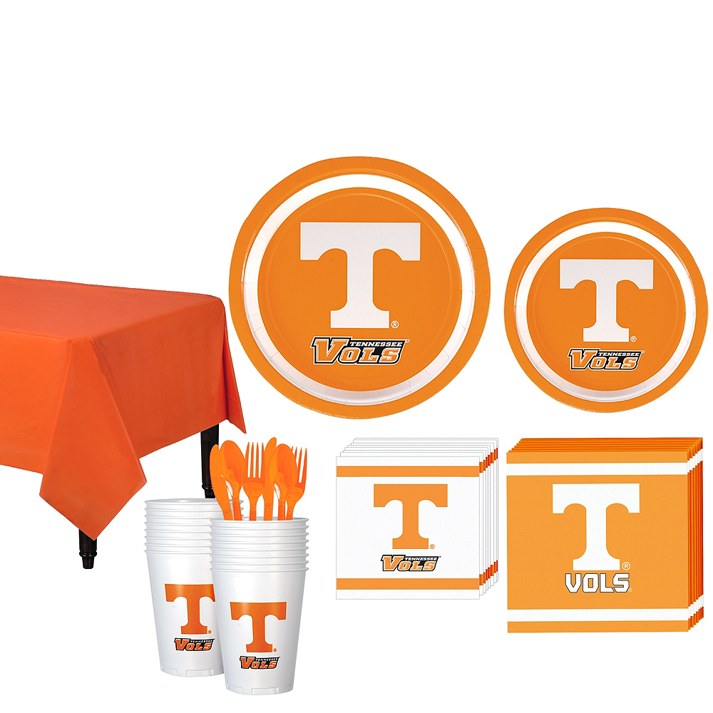 Tennessee Volunteers Party Kit for 16 Guests Image #1