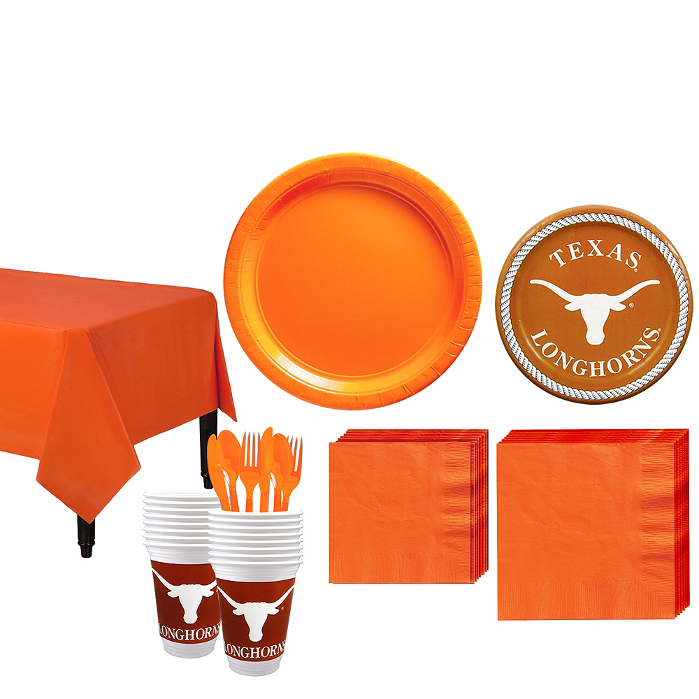 Texas Longhorns Party Kit for 16 Guests Image #1