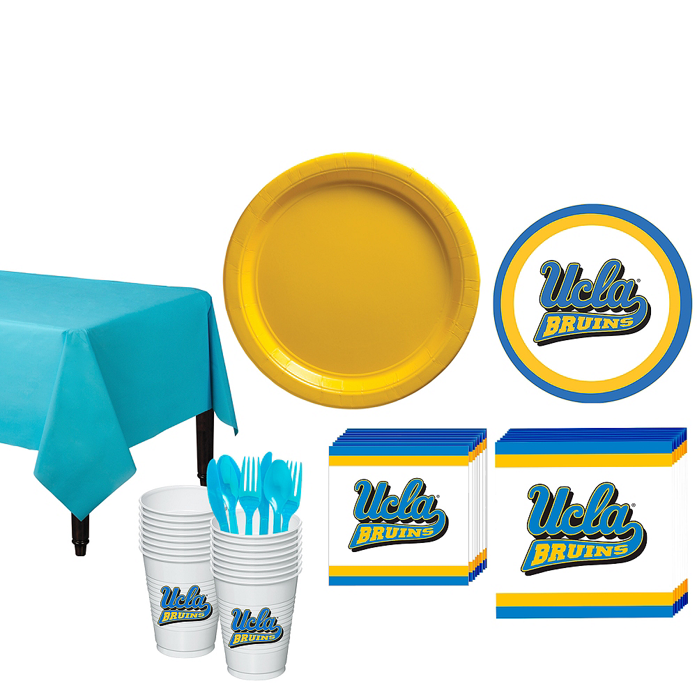 UCLA Bruins Party Kit for 16 Guests Image #1