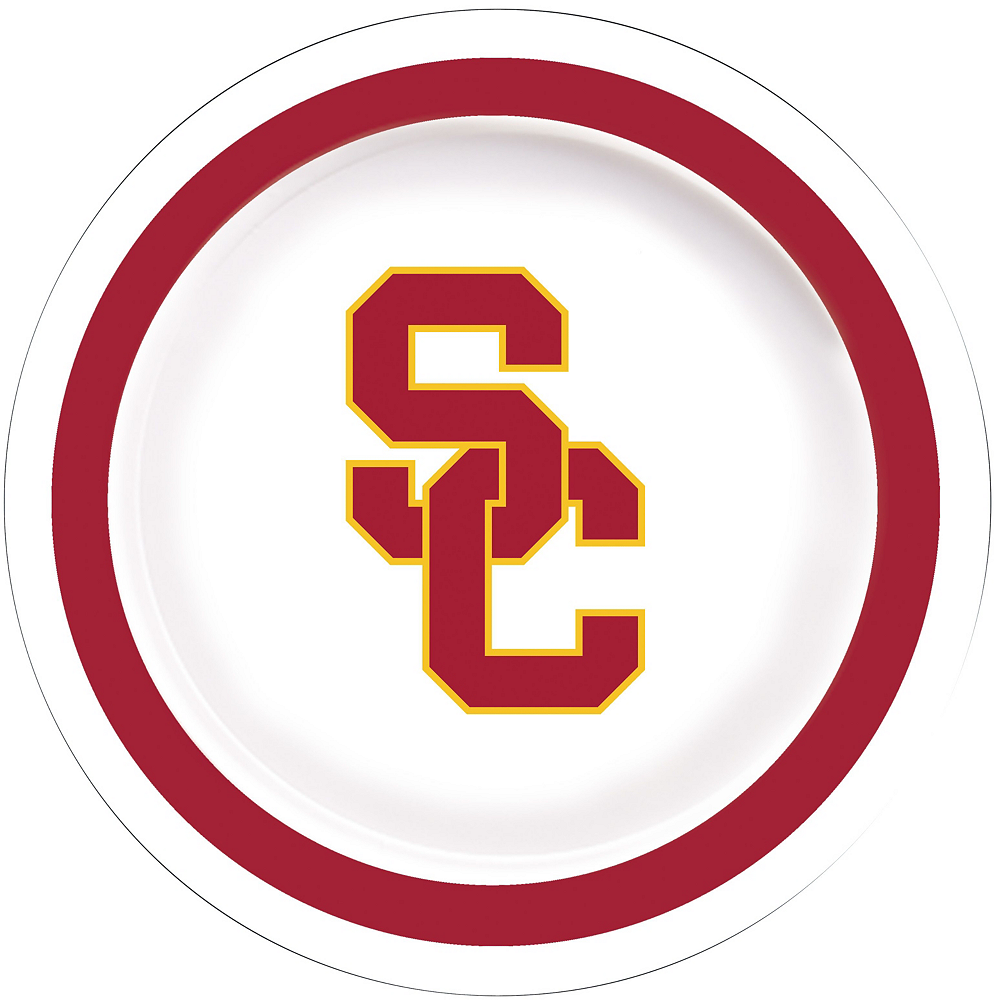 USC Trojans Party Kit for 16 Guests Image #3