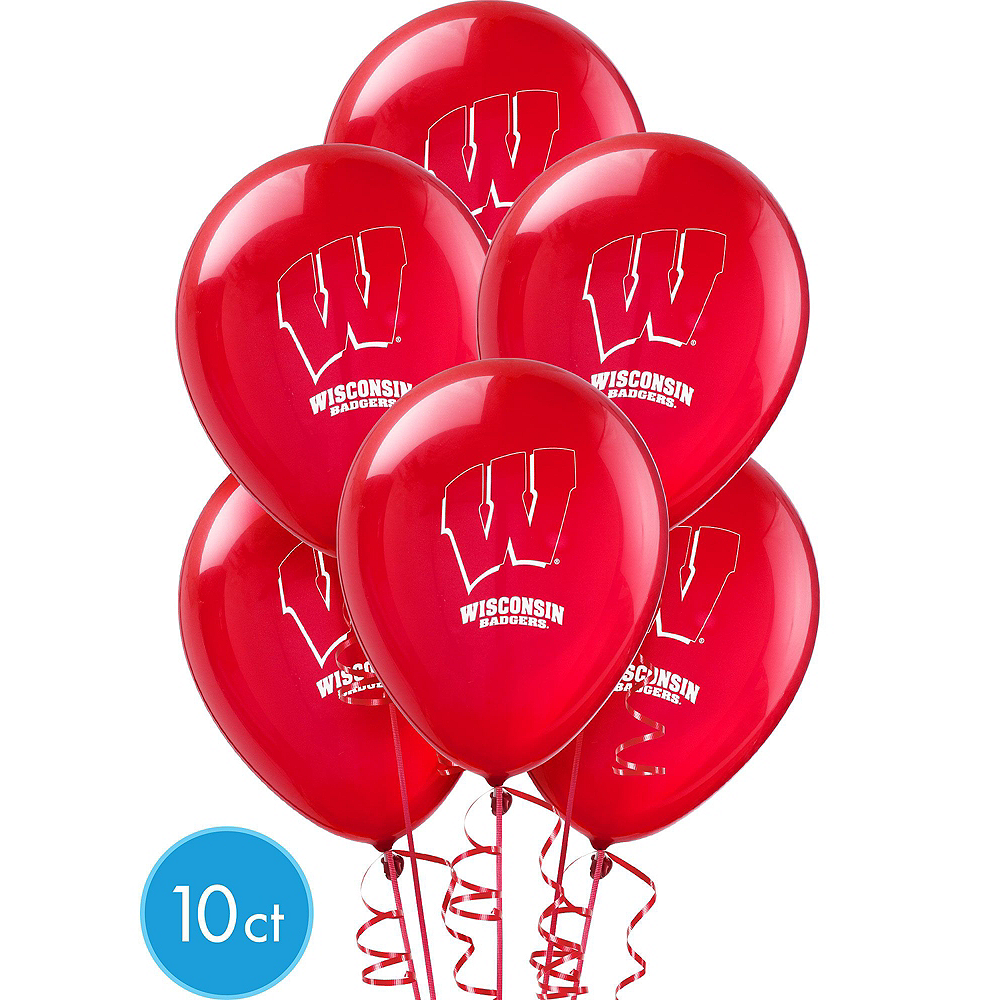 Wisconsin Badgers Balloon Kit Image #3