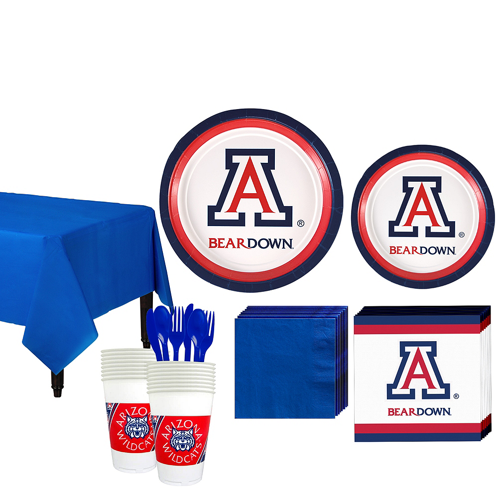 Arizona Wildcats Party Kit for 16 Guests Image #1