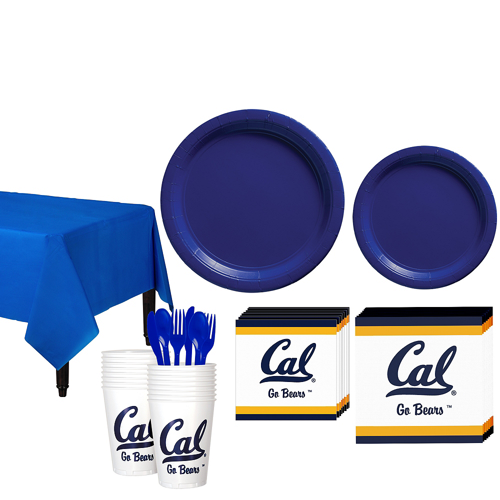 Cal Bears Party Kit for 16 Guests Image #1