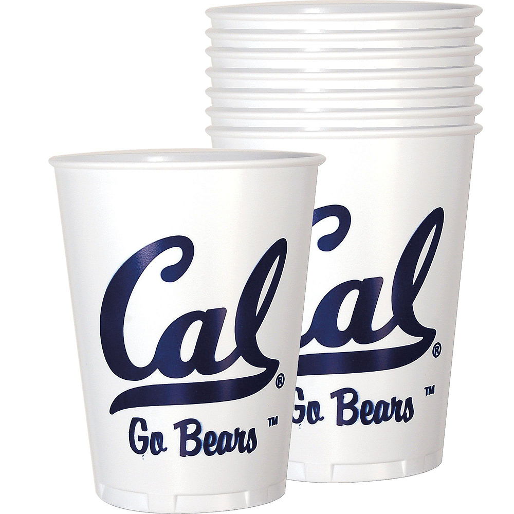 Cal Bears Party Kit for 16 Guests Image #6