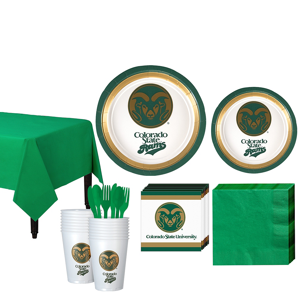 Colorado State Rams Party Kit for 16 Guests Image #1