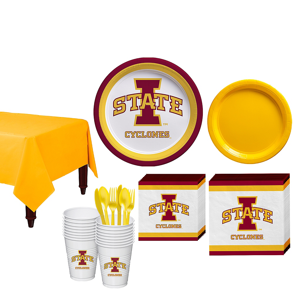 Iowa State Cyclones Party Kit for 16 Guests Image #1
