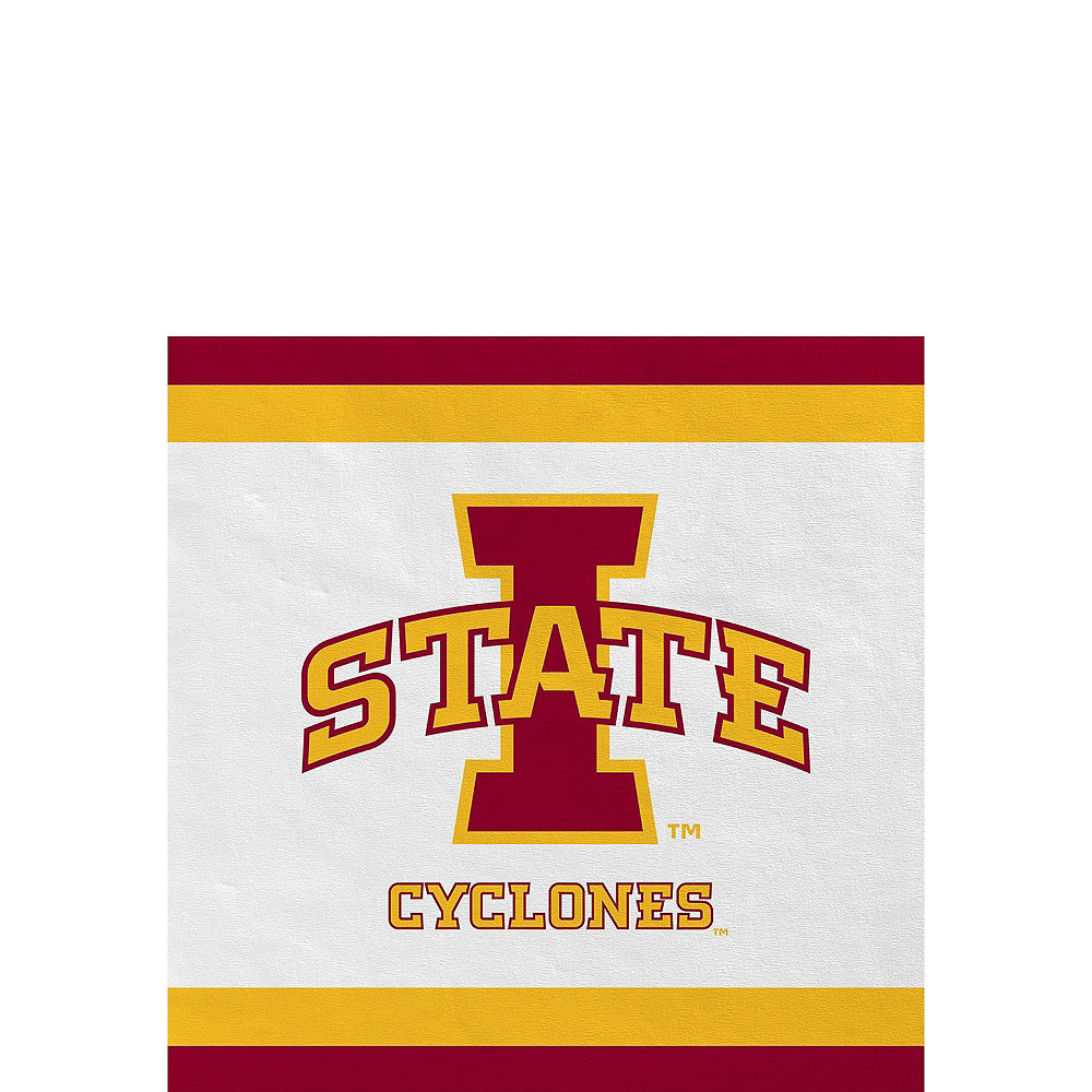 Iowa State Cyclones Party Kit for 16 Guests Image #4