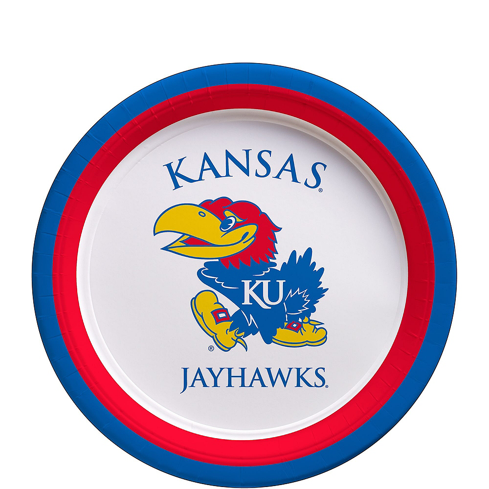 Kansas Jayhawks Party Kit for 16 Guests Image #2