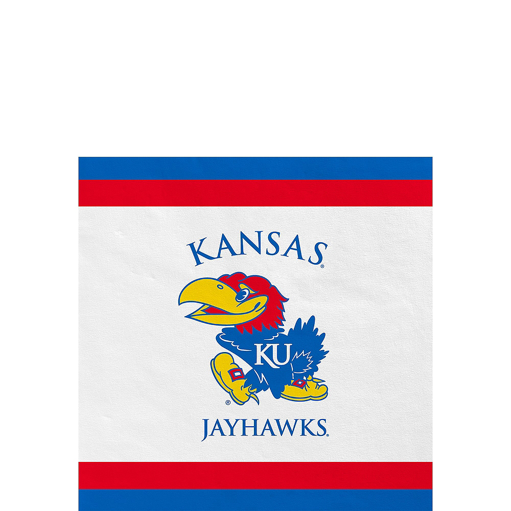 Kansas Jayhawks Party Kit for 16 Guests Image #4