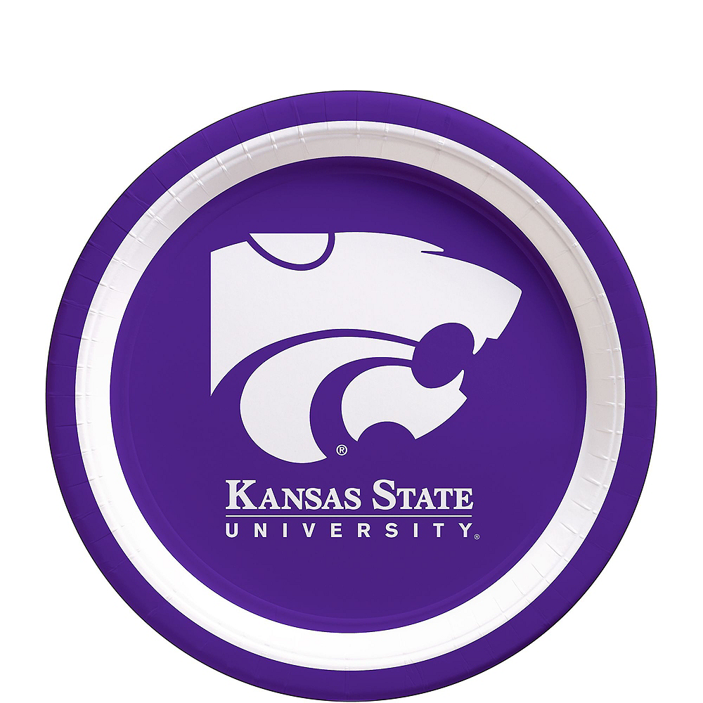 Kansas State Wildcats Party Kit for 16 Guests Image #2