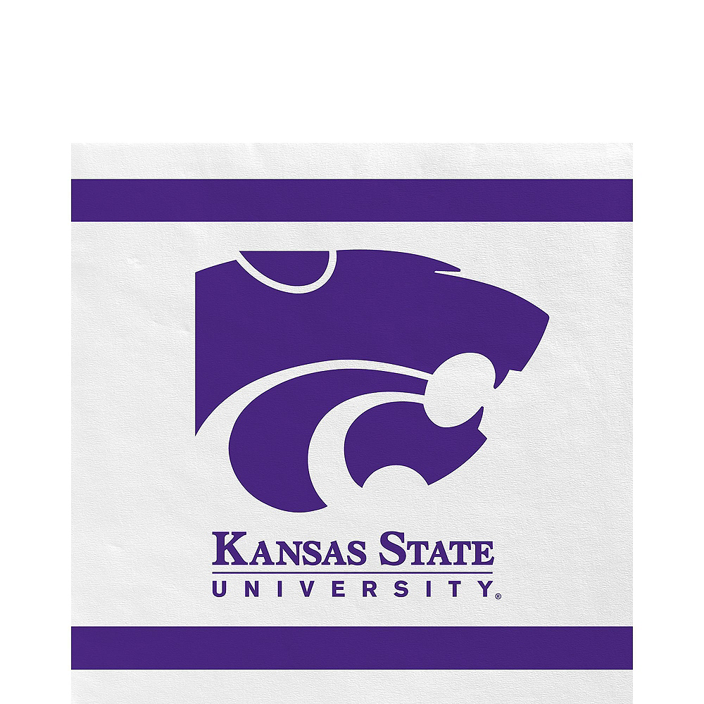 Kansas State Wildcats Party Kit for 16 Guests Image #5