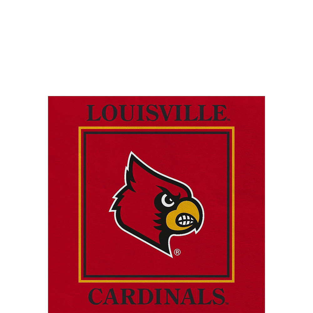 Louisville Cardinals Party Kit for 16 Guests Image #4
