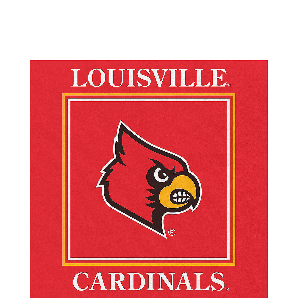 Louisville Cardinals Party Kit for 16 Guests Image #5