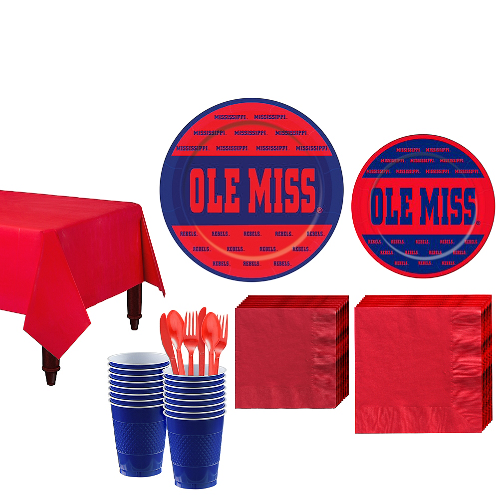 Ole Miss Rebels Party Kit for 16 Guests Image #1