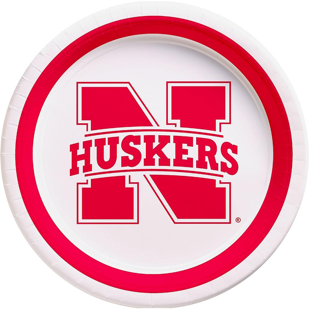 Nebraska Cornhuskers Party Kit for 16 Guests Image #3