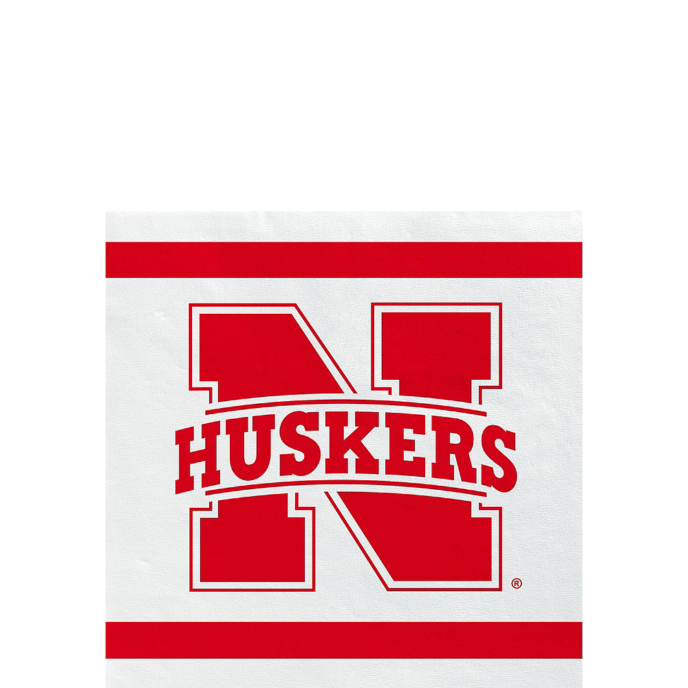 Nebraska Cornhuskers Party Kit for 16 Guests Image #4