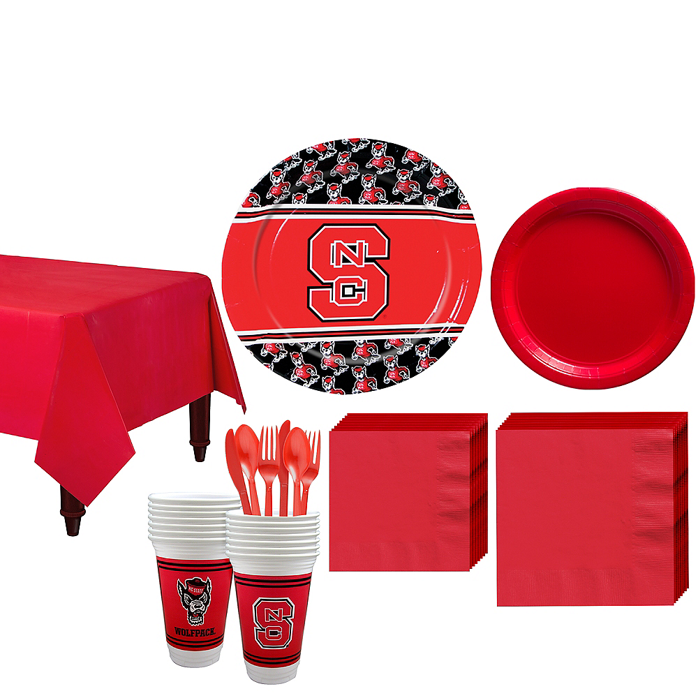 North Carolina State Wolfpack Party Kit for 16 Guests Image #1