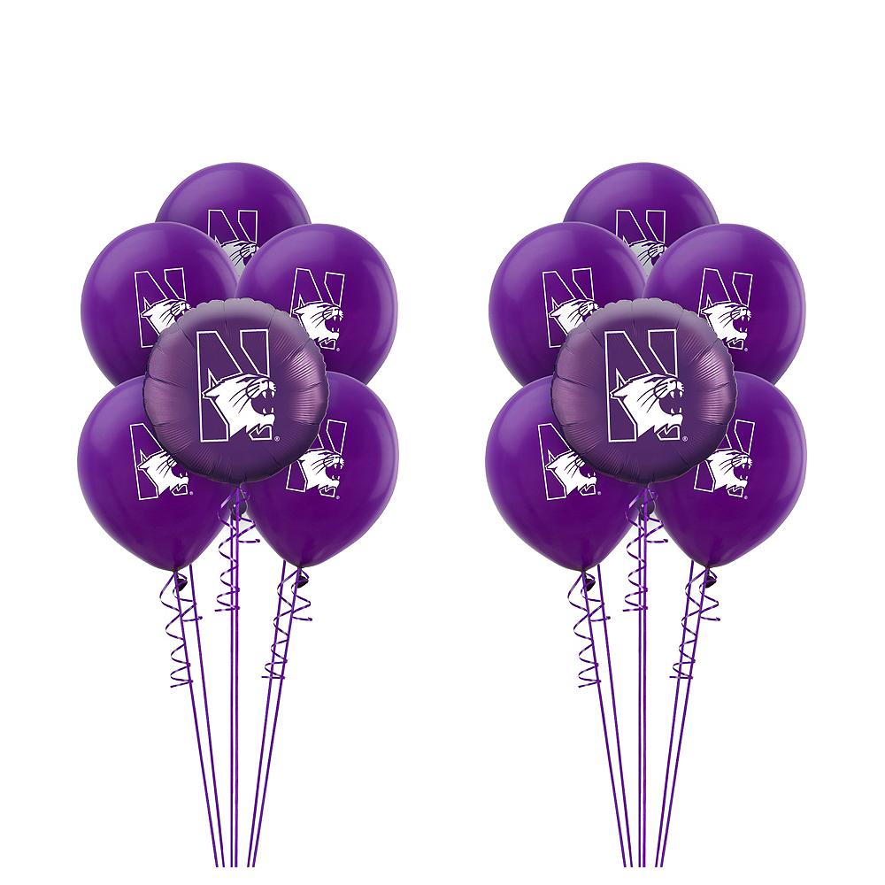 Northwestern Wildcats Balloon Kit Image #1