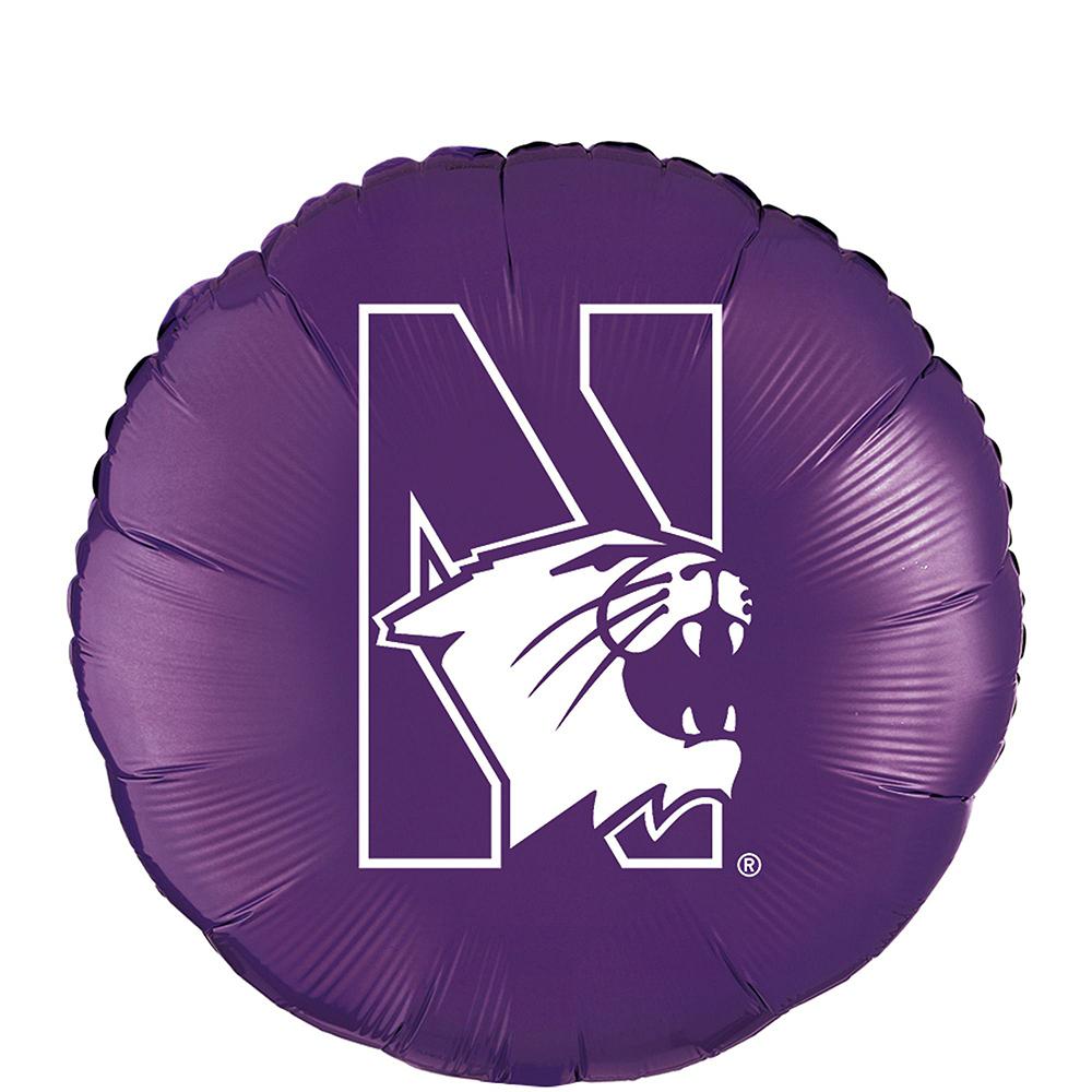 Northwestern Wildcats Balloon Kit Image #3