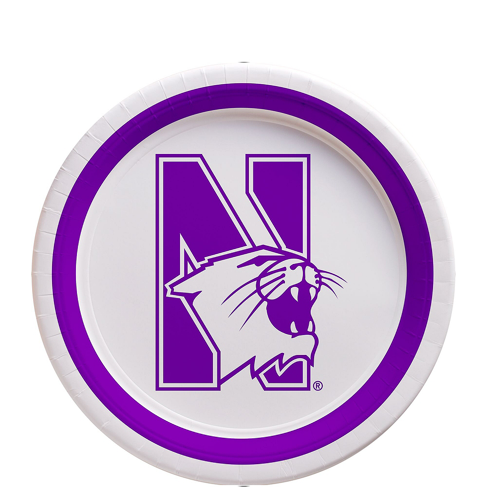 Northwestern Wildcats Party Kit for 16 Guests Image #2